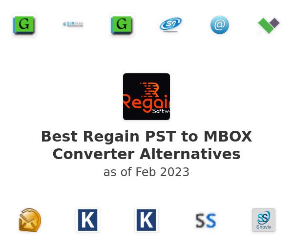 Best Regain PST to MBOX Converter Alternatives