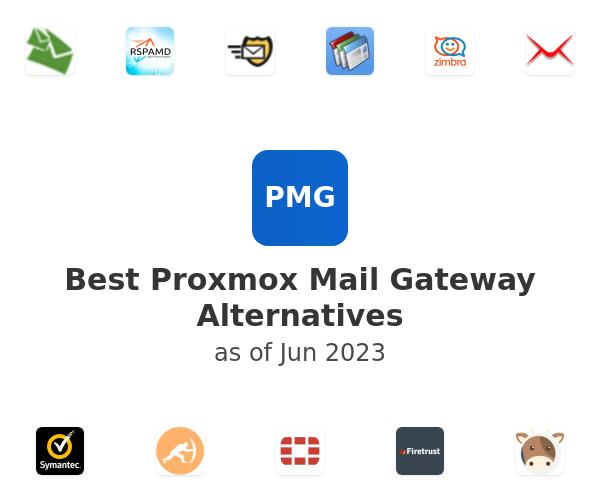 Best Proxmox Mail Gateway Alternatives