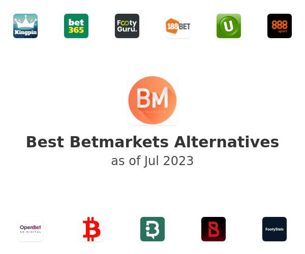 Best Betmarkets Alternatives
