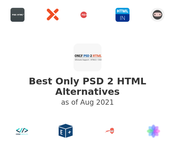 Best Only PSD 2 HTML Alternatives