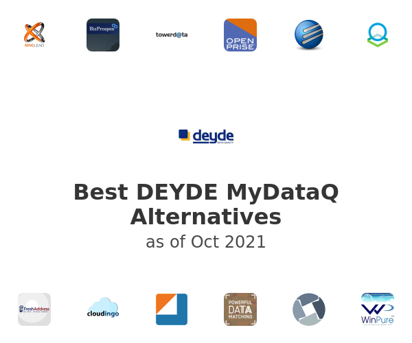 Best DEYDE MyDataQ Alternatives
