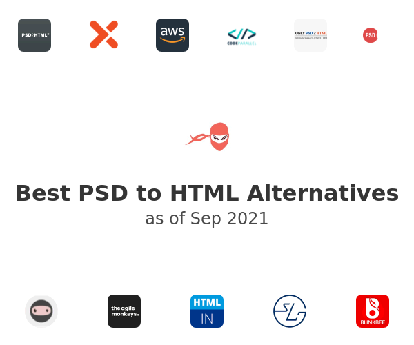 Best PSD to HTML Alternatives