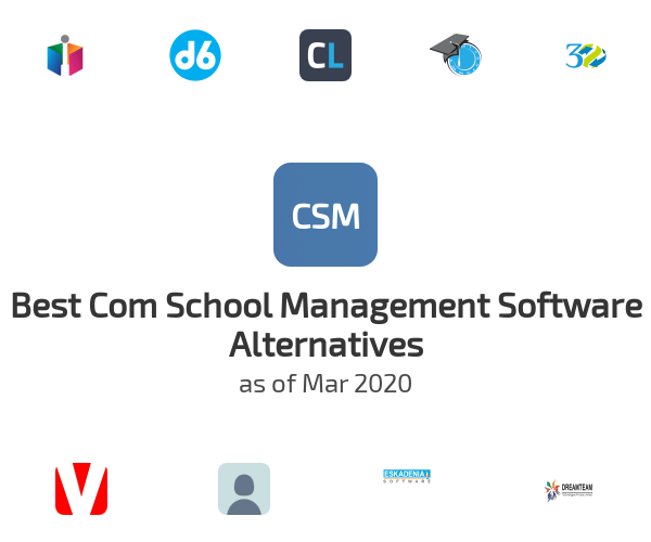 Best Com School Management Software Alternatives