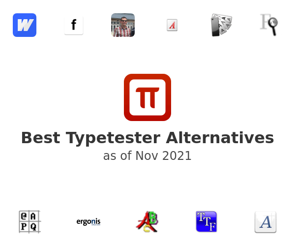 Best Typetester Alternatives