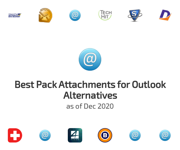 Best Pack Attachments for Outlook Alternatives