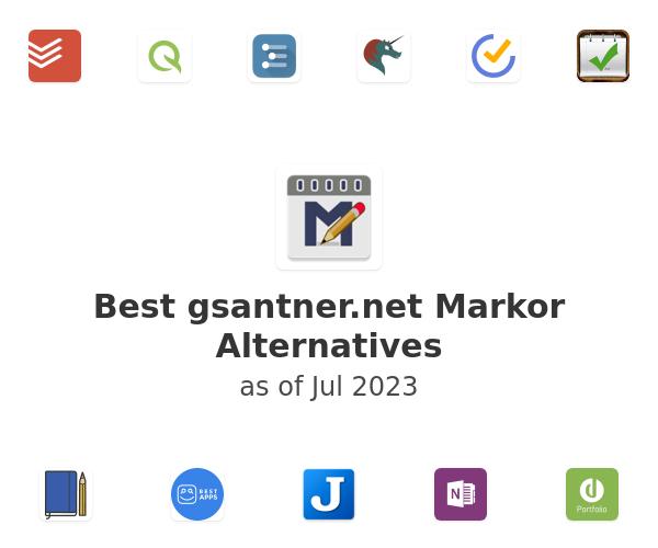 Best Markor Alternatives