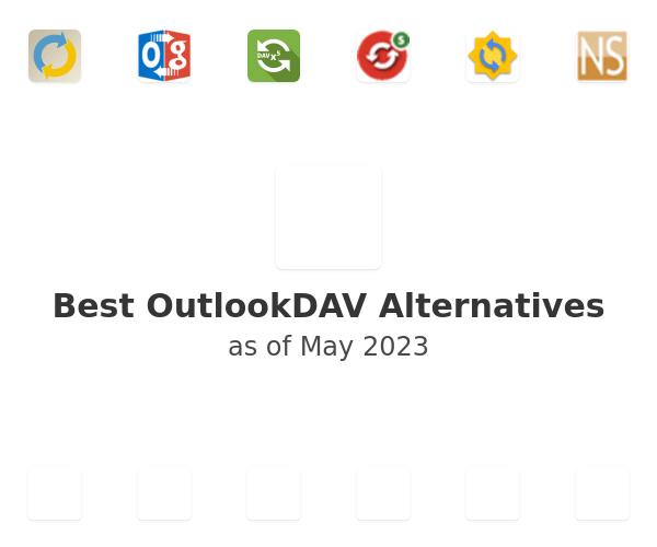 Best OutlookDAV Alternatives