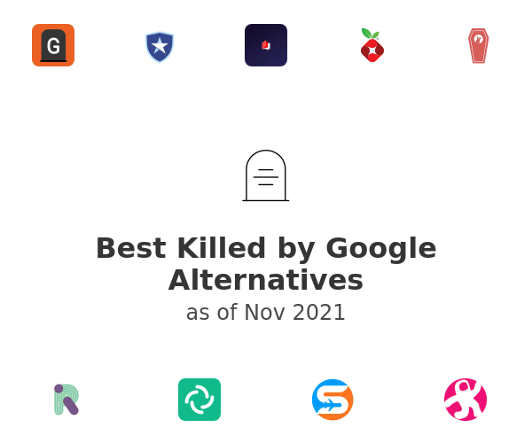 Best Killed by Google Alternatives