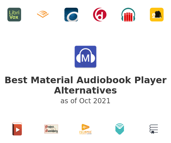 Best Material Audiobook Player Alternatives