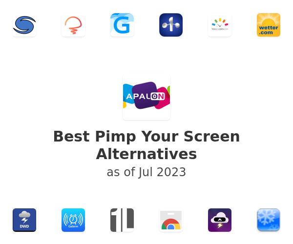 Best Pimp Your Screen Alternatives