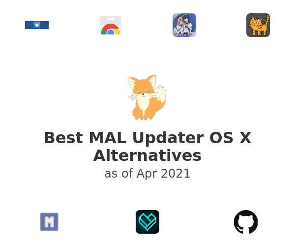 Best MAL Updater OS X Alternatives