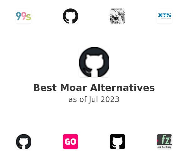 Best Moar Alternatives