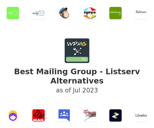 Best Mailing Group - Listserv Alternatives
