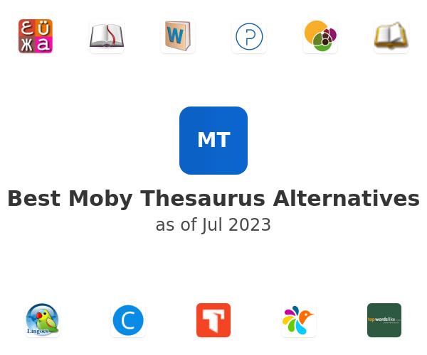 Best Moby Thesaurus Alternatives