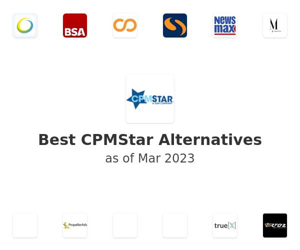 Best CPMStar Alternatives