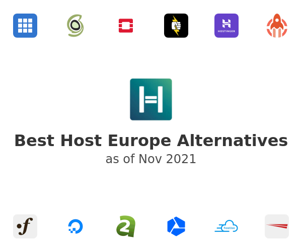 Best Host Europe Alternatives