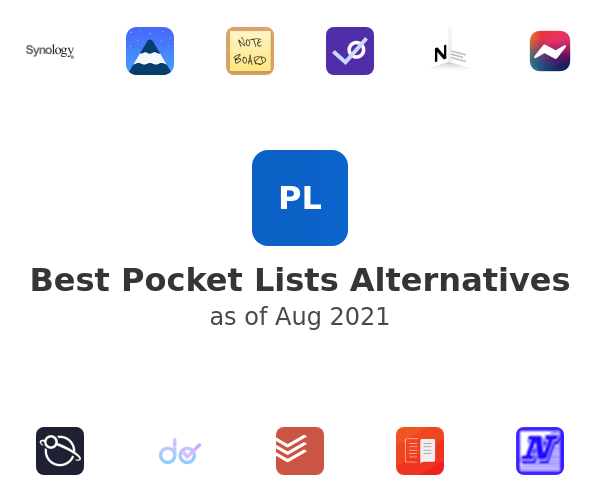 Best Pocket Lists Alternatives
