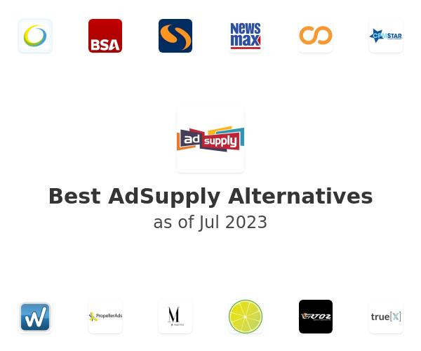 Best AdSupply Alternatives