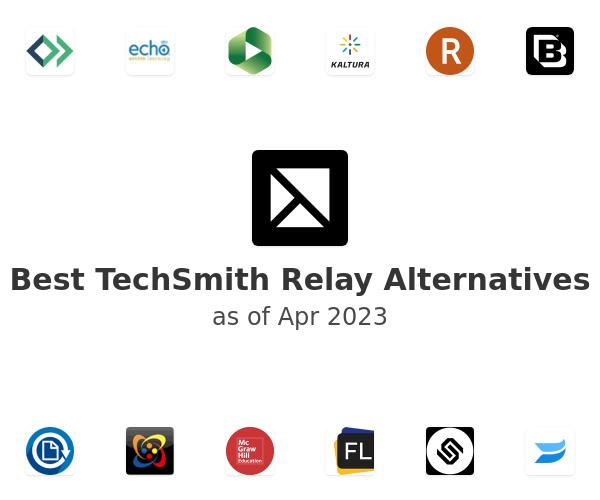 Best TechSmith Relay Alternatives