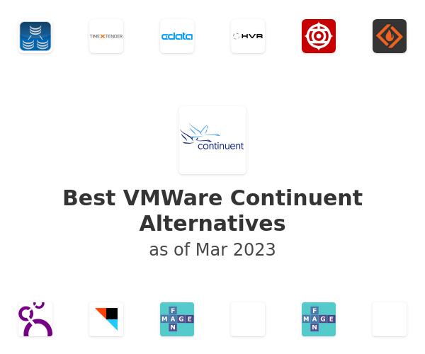 Best VMWare Continuent Alternatives