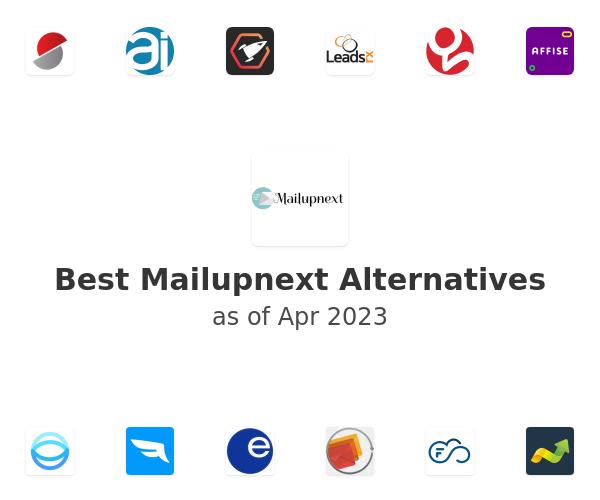 Best Mailupnext Alternatives