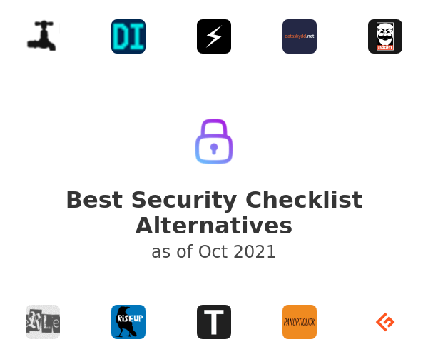 Best Security Checklist Alternatives