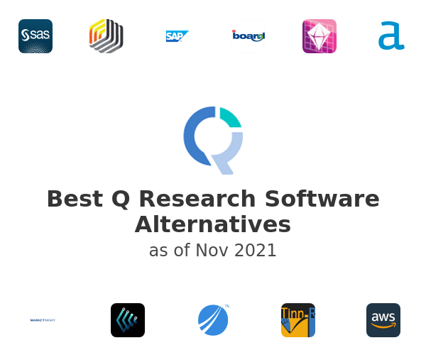 Best Q Research Software Alternatives