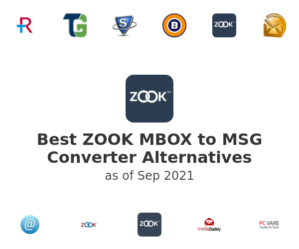 Best ZOOK MBOX to MSG Converter Alternatives