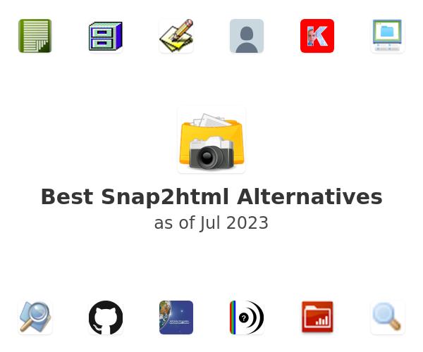 Best Snap2html Alternatives