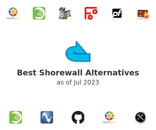 Best Shorewall Alternatives