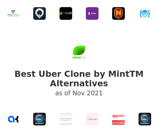 Best Uber Clone by MintTM Alternatives