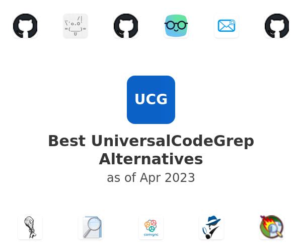 Best UniversalCodeGrep Alternatives