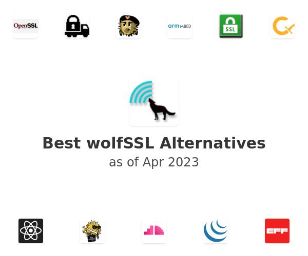 Best wolfSSL Alternatives