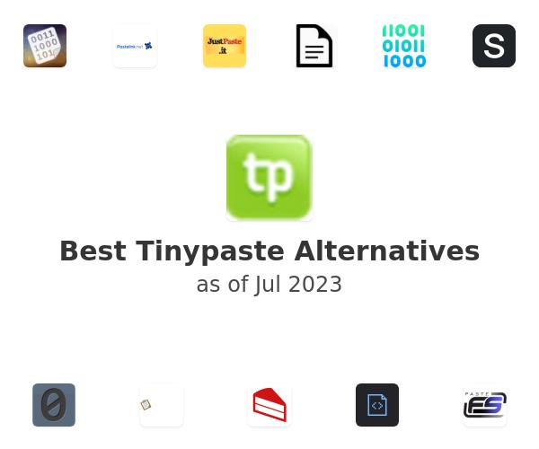 Best Tinypaste Alternatives