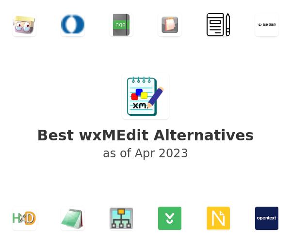 Best wxMEdit Alternatives