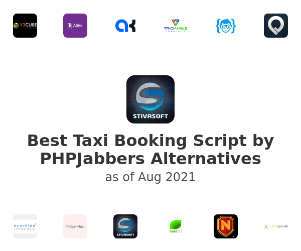 Best Taxi Booking Script by PHPJabbers Alternatives