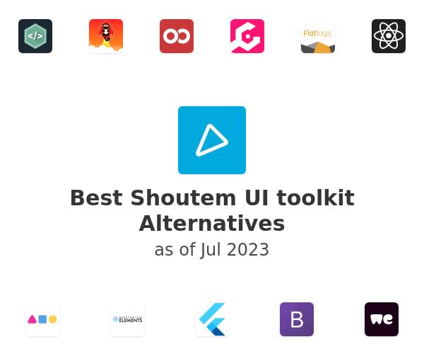 Best Shoutem UI toolkit Alternatives