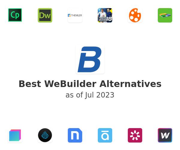 Best WeBuilder Alternatives