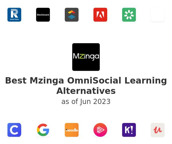 Best Mzinga OmniSocial Learning Alternatives