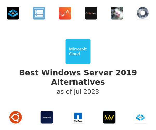 Best Windows Server 2019 Alternatives