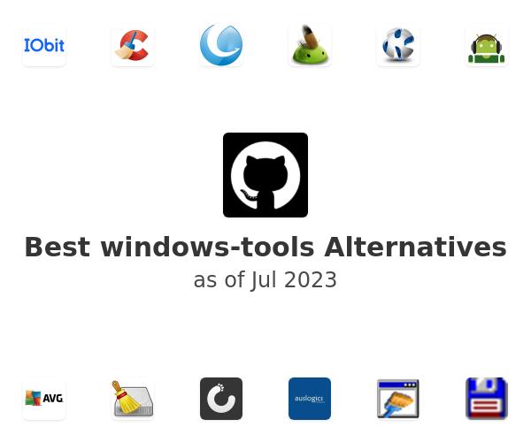 Best windows-tools Alternatives