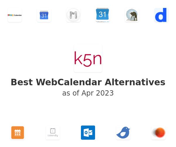 Best WebCalendar Alternatives