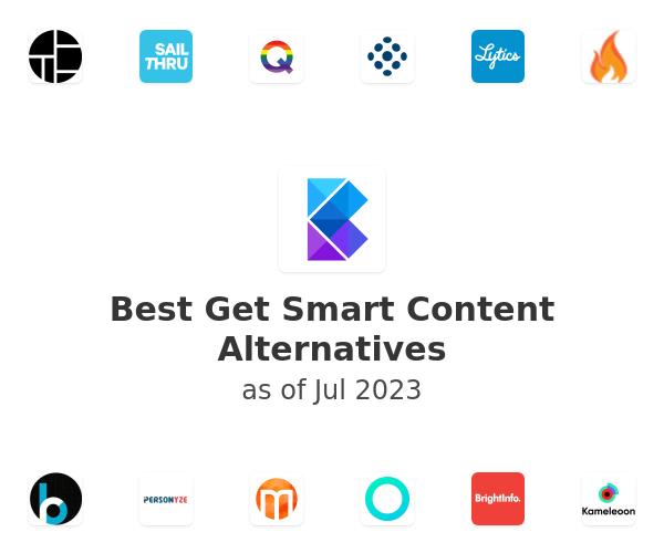 Best Get Smart Content Alternatives