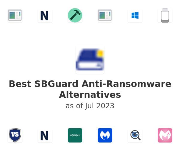 Best SBGuard Anti-Ransomware Alternatives