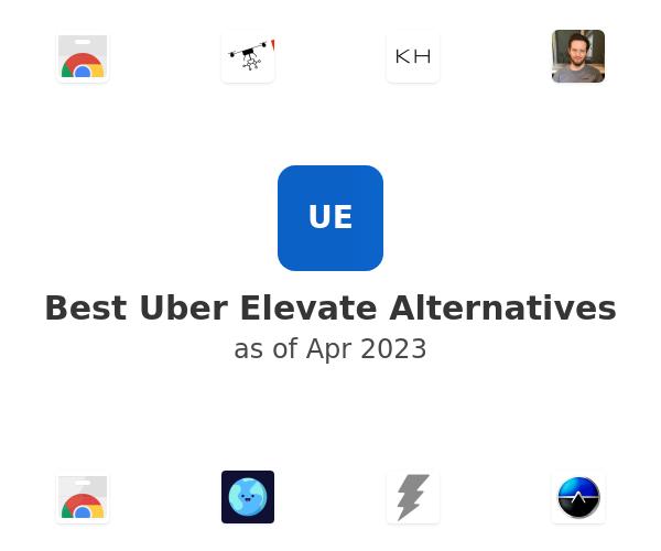 Best Uber Elevate Alternatives