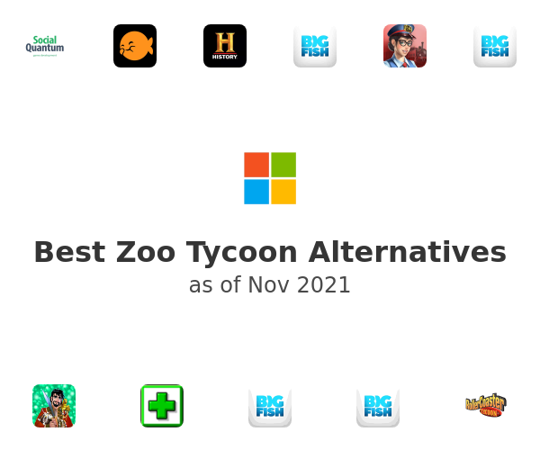 Best Zoo Tycoon Alternatives