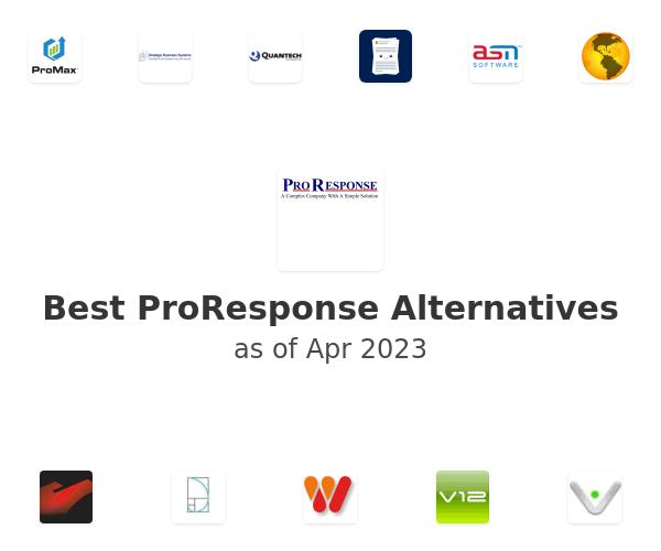 Best ProResponse Alternatives