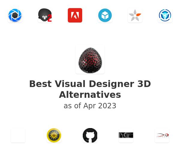 Best Visual Designer 3D Alternatives