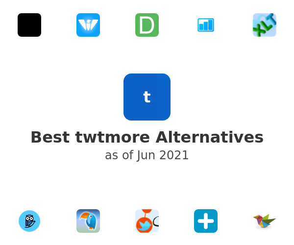 Best twtmore Alternatives