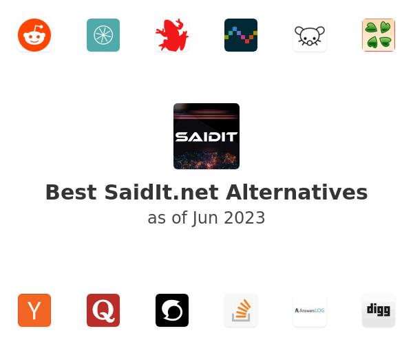 Best SaidIt.net Alternatives